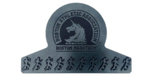 Boston Marathon medal display hanger, boston marathon, marathon, gift for him, gift for her